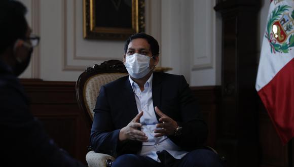"""Luis Valdez, vicepresidente del Congreso, criticó a la magistrados del TC y señaló que sus miembros fueron designados """"a dedo"""" y """"no representan políticamente, ni socialmente a la ciudadanía"""" (Foto: GEC)"""