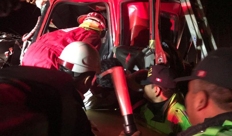 Áncash: accidente deja un fallecido en la carretera Panamericana Norte