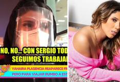 Yahaira Plasencia viaja a Estados Unidos tras incidente de fiesta COVID-19 en Cieneguilla