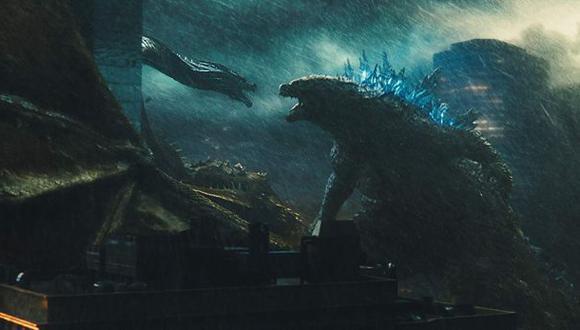 """Ghidorah vs Godzilla en """"King of the Monsters"""" (Foto: Warner Bros.)"""