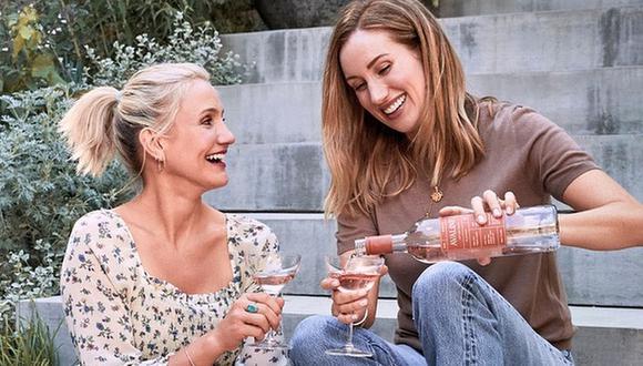 """Cameron Diaz lanza """"Avaline"""", su nueva marca de vino amigable con el medioambiente y hecho de uvas españolas. (Foto: Instagram)"""