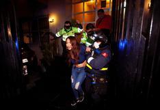 San Isidro: intervienen a dos personas que protagonizaron una pelea al interior de departamento