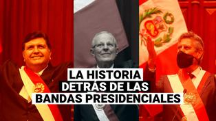 Alan García, Pedro Pablo Kuczynski y Francisco Sagasti: Historias detrás de las bandas presidenciales