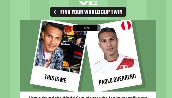 Con esta app podrás comparar tus rasgos con los de 700 jugadores que participan en el certamen mundial.