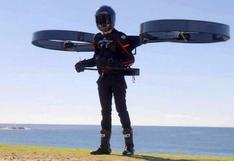 CopterPack, la mochila que te transforma en un dron humano