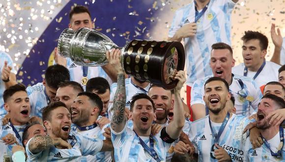 Argentina se quedó con el título tras vencer por la mínima a Brasil en el mítico Maracaná. | Foto: Reuters