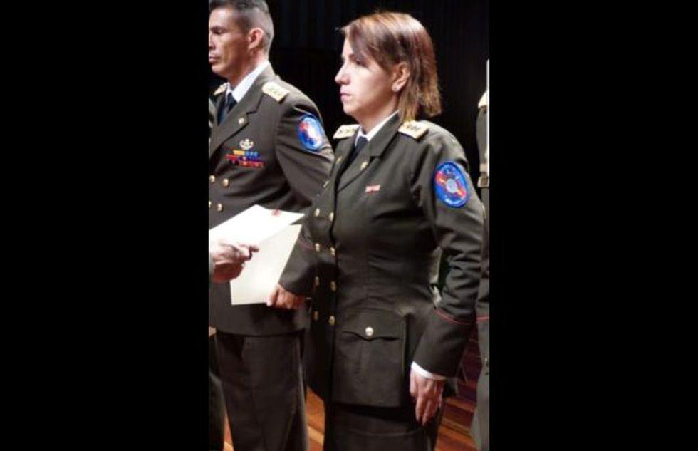 "Capitana Keyler Chacón Bautista, alias ""Gaviota""."