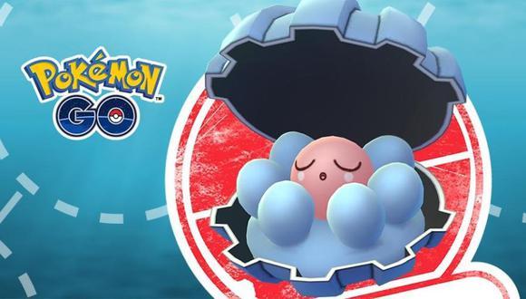 Clamperl es apareció en la tercera generación. (Foto: Pokémon Go)