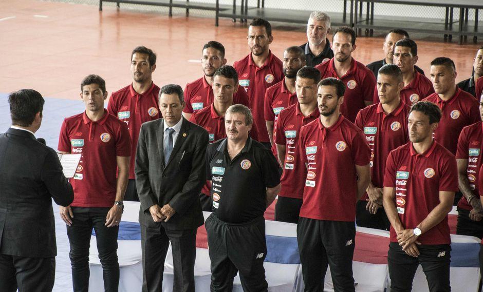 """Mundial Rusia 2018: Jugadores de Costa Rica juraron """"dejar en alto"""" a su selección. (Foto: AFP)"""