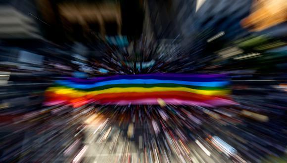 """Las siglas LGTB corresponden a lesbianas, gais, transexuales y bisexuales. Sin embargo, se pueden encontrar extensiones de esa sigla que añaden las letras """"I"""" de intersexual y """"A"""" de asexual. (Foto: AFP)."""