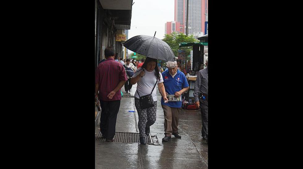 Las lluvias que sorprendieron a los limeños en pleno verano - 9