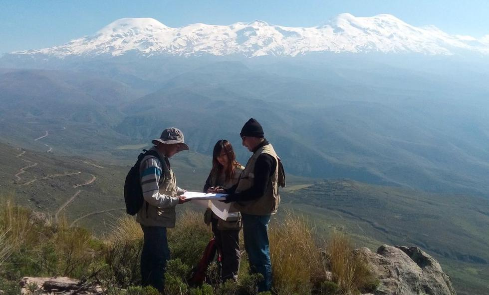 El Ingemmet determinó a través de estudios la existencia de 10 volcanes activos en el Perú. (Foto: Ingemmet)