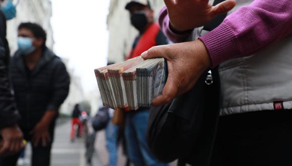 El dólar tiene un avance de 7,68% en lo que va del 2021, en comparación al resultado anotado al cierre del año pasado. (Foto: Juan Ponce / GEC)