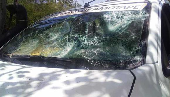 El ataque se registró durante un patrullaje de guardaparques y policías en el sector Peroles, centro poblado de Teniente Astete, en Tumbes. (Foto: Sernanp)
