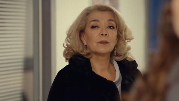 La aparición de Semiha Yıldırım ocasionó el primer enfrentamiento con Eda. La abuela tiene un ultimátum para ella: dejar a Serkan y casarse con otro hombre que ella elegirá (Foto: MF Yapım)