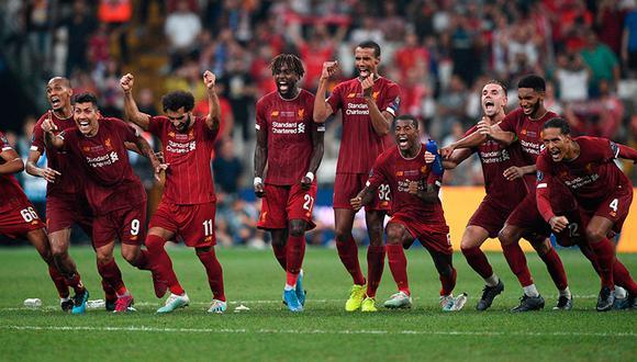 Liverpool logró su cuarto título de la Supercopa de Europa en Estambul y empieza con pie derecho la temporada 2019-2020.