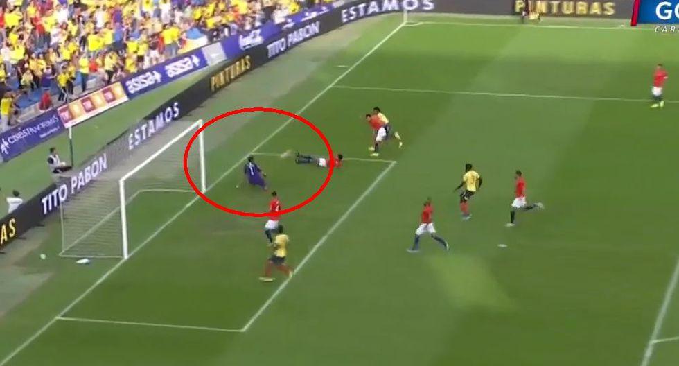 Colombia vs chile en vivo gol caracol