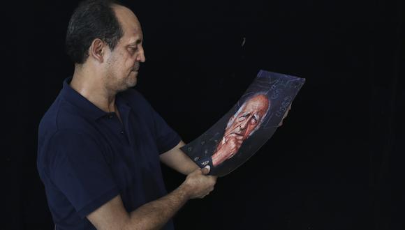 14 DE FEBRERO DE 2018  Arquitecto Vicente de Szyszlo , hijo de don Fernando  FOTO : ROLLY REYNA/ EL COMERCIO PERU