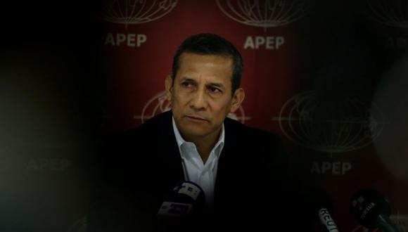 El lunes pasado, Ollanta Humala realizó una conferencia para la prensa extranjera en el Perú, en la que habló del Caso Madre Mía (Foto: Reuters)