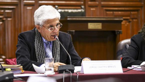 Jorge Castro (Foto: Congreso de la República)