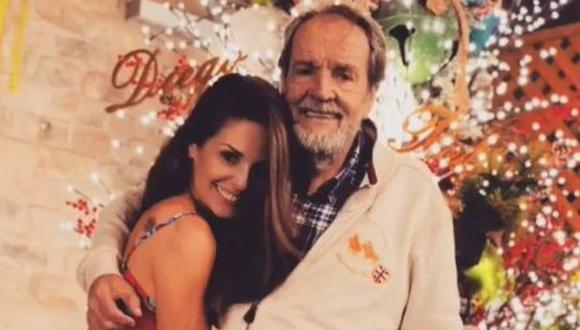 Rebeca Escribens se reencontró con su padre luego de nueve meses. (Foto: Captura de Instagram)