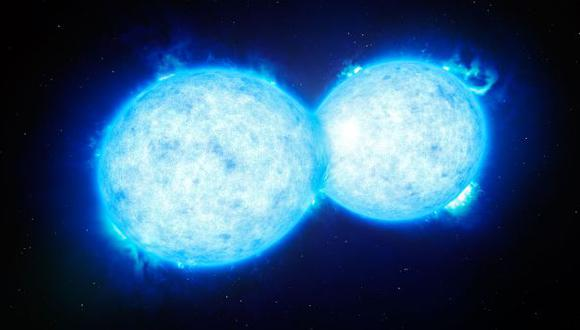 """Científicos hallan dos estrellas que se """"besan"""" [VIDEO]"""