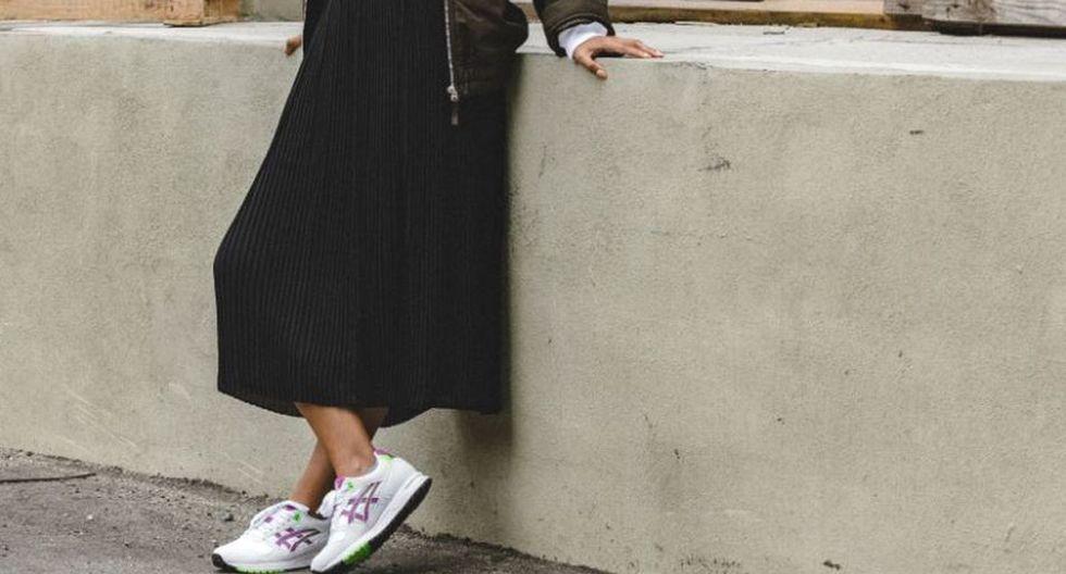 Las tendencias retro están de vuelta en prendas, zapatos y accesorios que no deben faltar en tu armario. (Foto: Asics Perú)