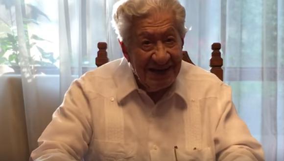 Ignacio López Tarso preocupa por su salud tras aparecer con un tanque oxígeno en entrevista.  (Foto: captura Facebook)