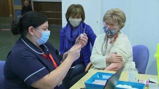 Inglaterra abrió nuevos centros de vacunación contra el nuevo coronavirus
