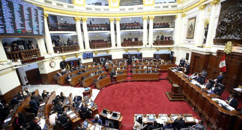 El pleno del Congreso reinicia sus sesiones este lunes. (Foto: Congreso)