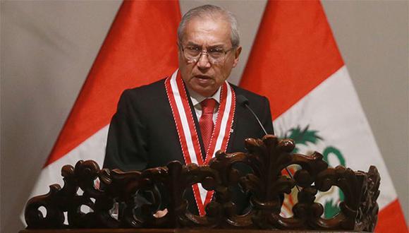 Fiscal de la Nación, Pedro Chávarry, se defendió de acusaciones en su contra. (Foto: Agencia Andina)