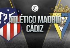Atlético de Madrid vs. Cádiz EN VIVO: cómo y dónde VER GRATIS el amistoso de pretemporada