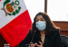 """Violeta Bermúdez: """"Es falso que el Poder Ejecutivo no haya firmado ningún contrato para la adquisición de las vacunas"""""""