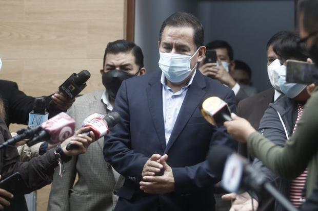 Vega había manifestado que apoyaría a PL en la segunda vuelta. (Foto: César Campos)