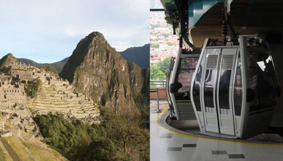 Apavit recomienda que el próximo titular del Mincetur retome el proyecto del teleférico en Machu Picchu. (Foto: El Comercio)