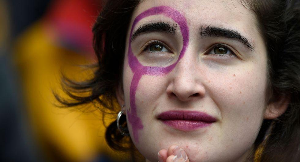 El Día Internacional de la Mujer, reconocido en 1975 por la ONU, conmemora la lucha de la mujer por su participación en la sociedad. (AFP)
