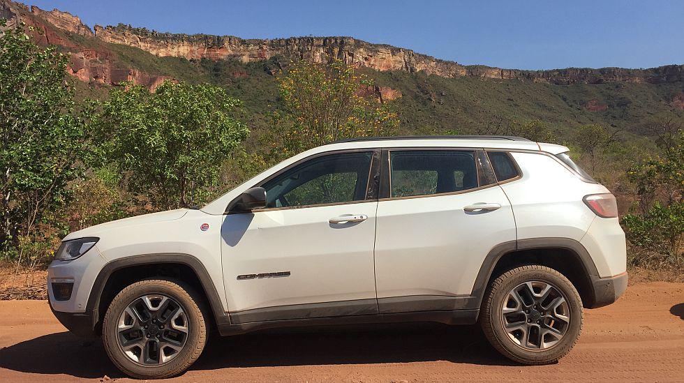 Pudimos probar todas las bondades de la segunda generación de la Jeep Compass en Palmas, Brasil. (fotos: Ruedas&Tuercas/Jeep)
