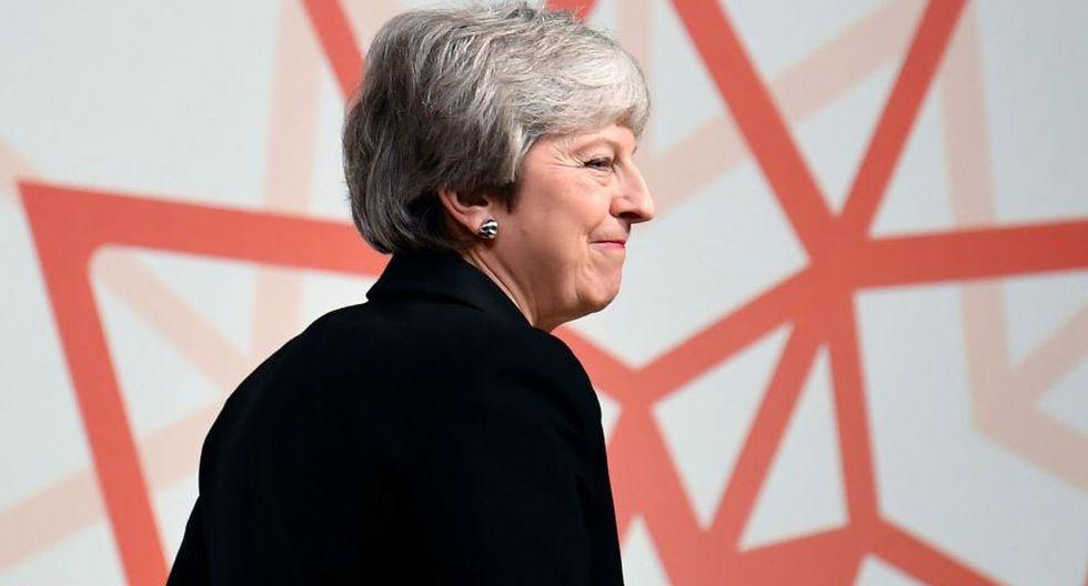 Theresa May corteja a laboristas en busca de apoyos para el Brexit. (AFP)