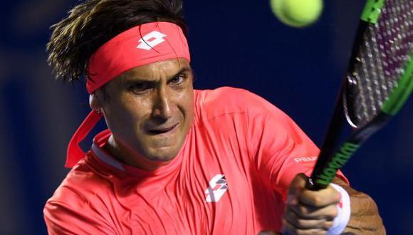 Favid Ferrer, tenista español. (Foto: AFP)