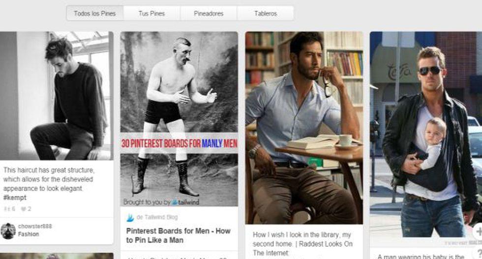 Pinterest busca atraer a más hombres