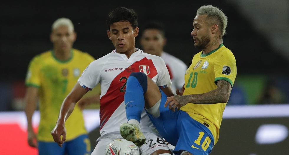 Jhilmar Lora tuvo la oportunidad de enfrentar al Brasil de Neymar en las semifinales de la Copa América. Tiene 20 años. (Foto: AP Photo/Silvia Izquierdo)