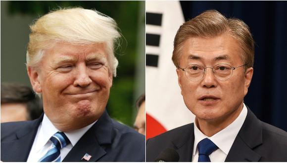 Trump invita al presidente de Corea del Sur a la Casa Blanca