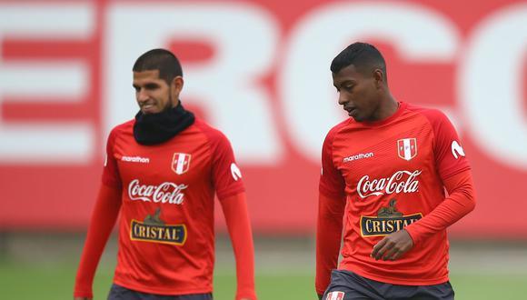 Luis Abram y Miguel Araujo han disputado juntos ocho partidos con la selección peruana. (Foto: El Comercio)
