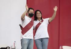 Elecciones 2021: Kenji Fujimori reapareció junto a su hermana Keiko Fujimori en Chorrillos