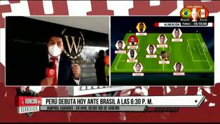 Copa América 2021: Brasil vs Perú se jugaría bajo lluvia