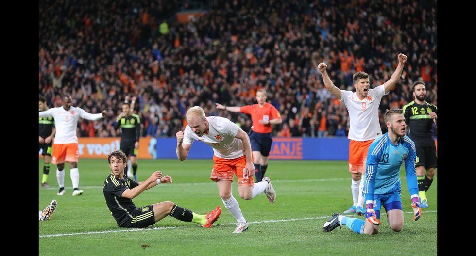 Las mejores imágenes del triunfo de Holanda sobre España - 13