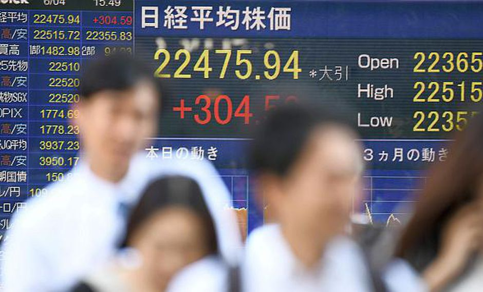 Los temores de una 'guerra comercial' generó nerviosismo entre los inversores. (Foto: AFP)