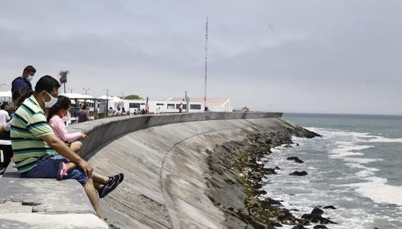Así lucen las playas del Callao. (Foto: Jessica Vicente/ @photo.gec)