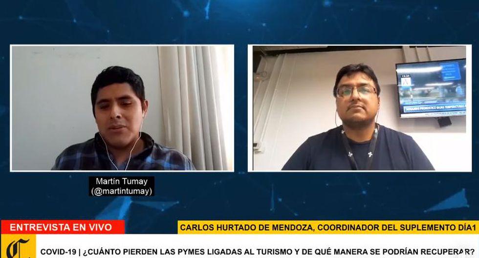 Coronavirus en Perú | Programa especial de El Comercio ante la pandemia. (Foto: captura)