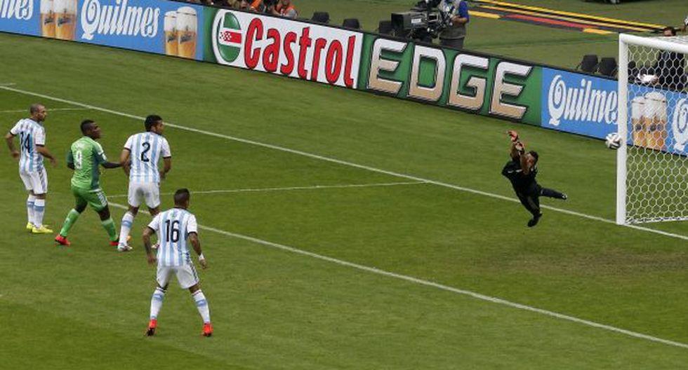 Con este golazo el nigeriano Musa puso el 1-1 ante Argentina - 3